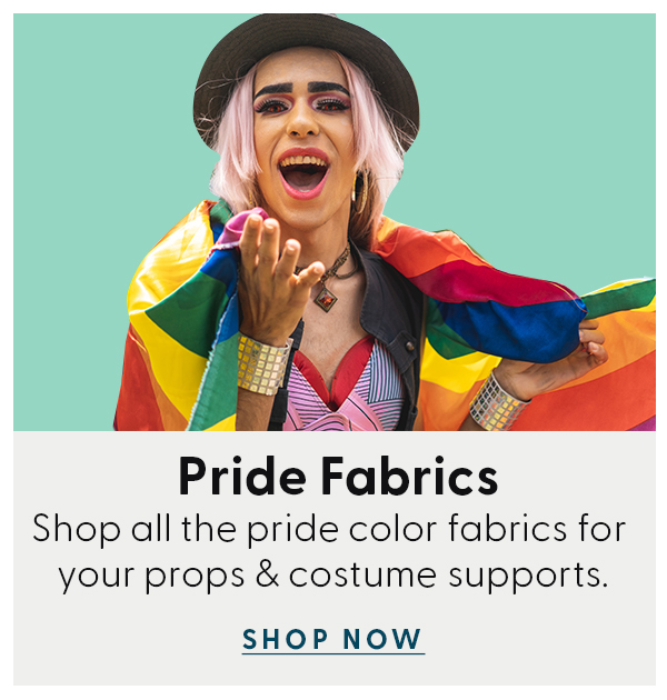 Pride Fabrics - Shop all the pride color fabrics for your props & costume supports