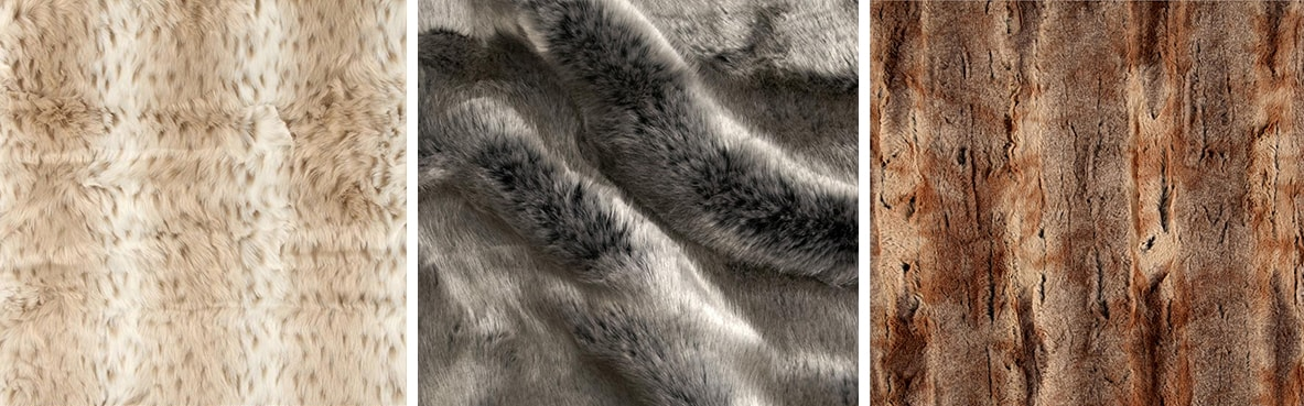 ActBold Faux Animal Fabric