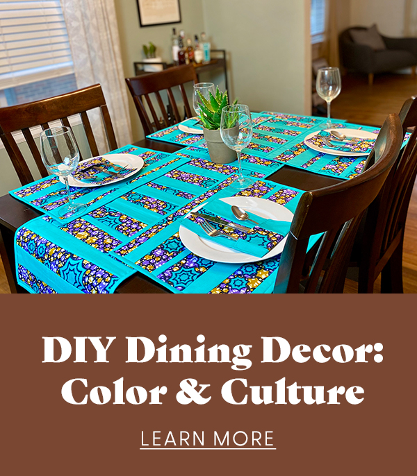 DIY Dining Decor: Color & Culture