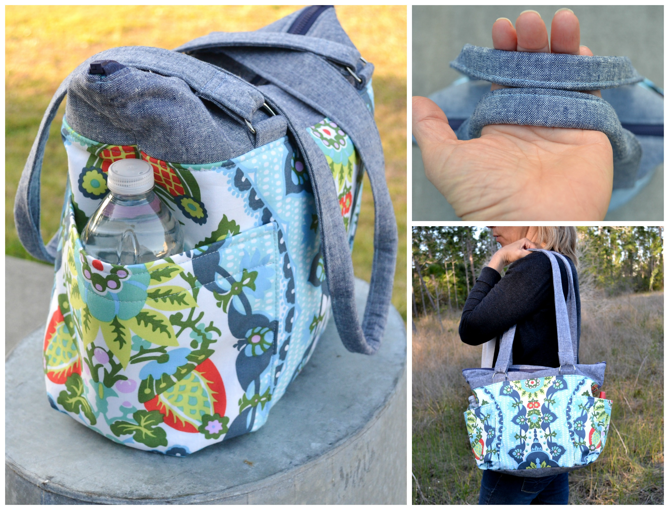 Diy Diaper Bag Tutorial Sew A Medium Sized Diaper Bag With Plenty
