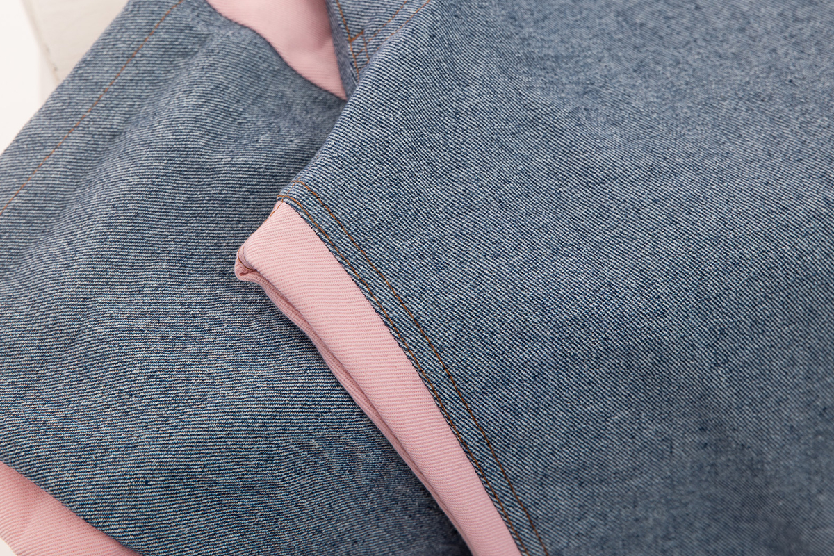 image of up close jeans