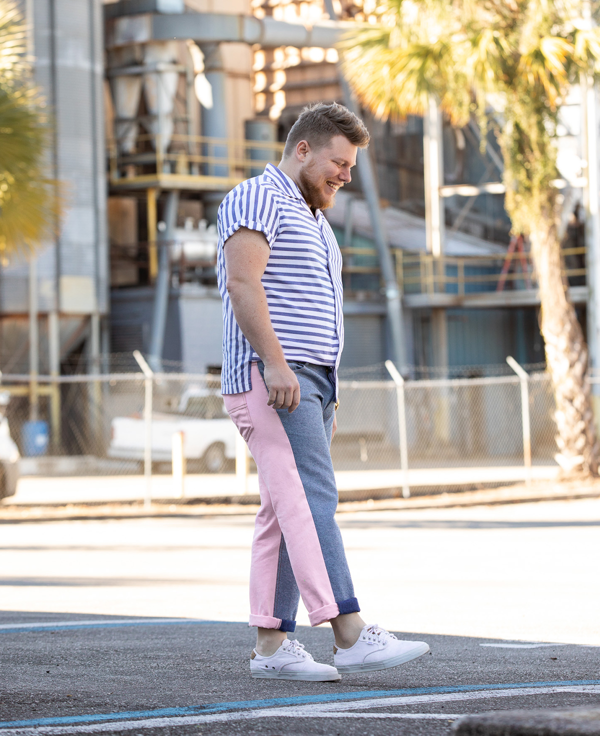 image of brad in jeans
