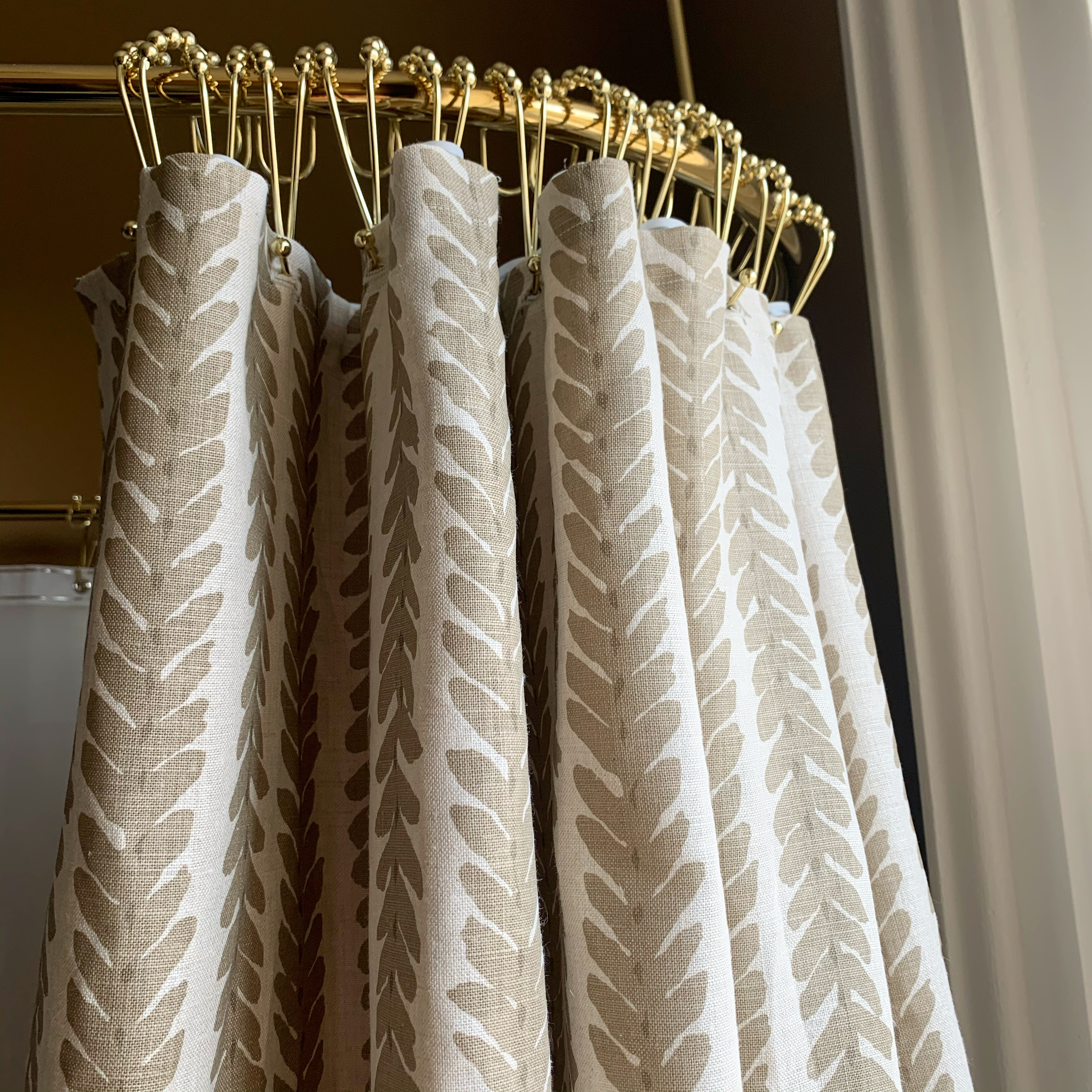 image of finished curtain