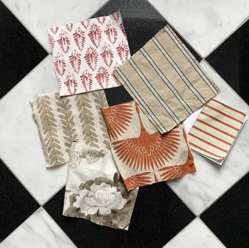 image of fabric samples