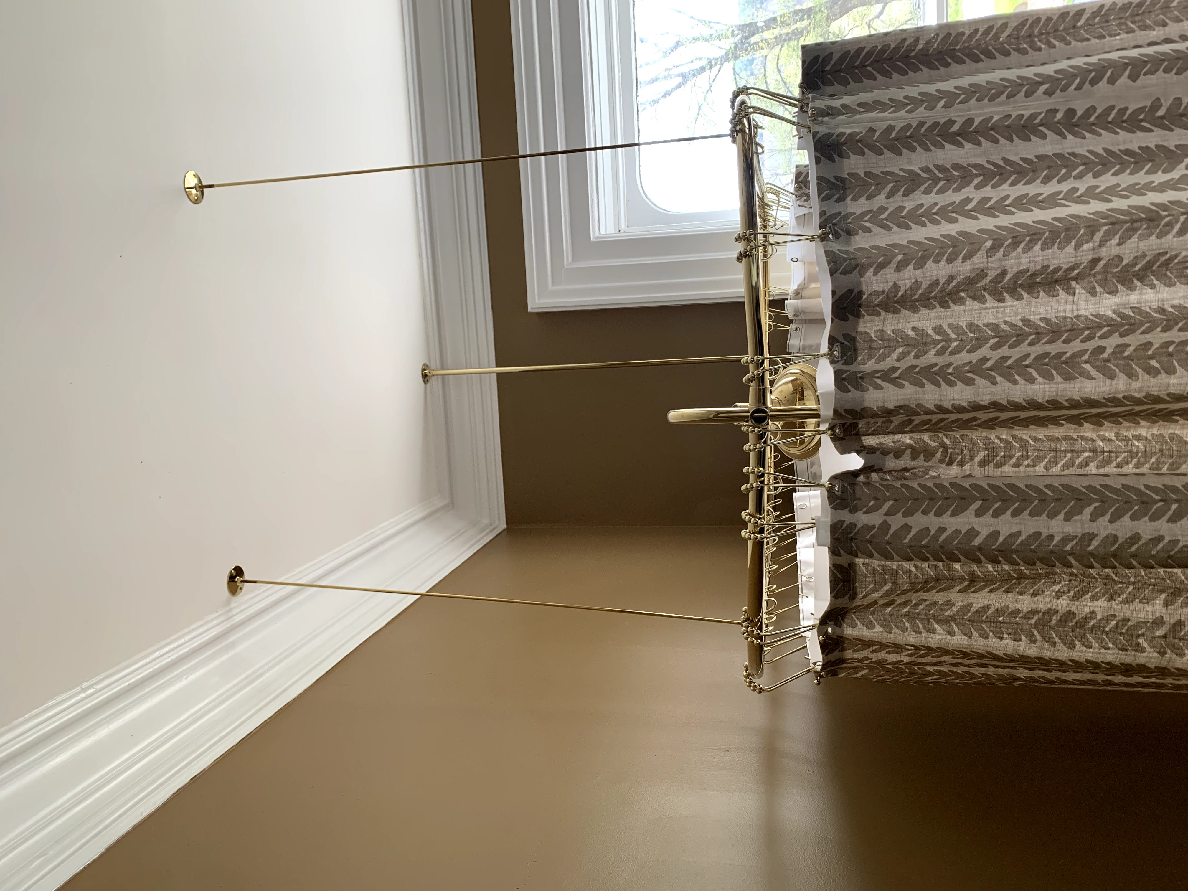 image of top of curtain