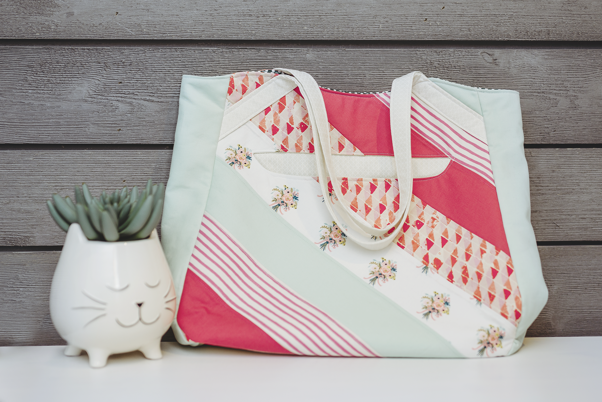 finished image of tote bag