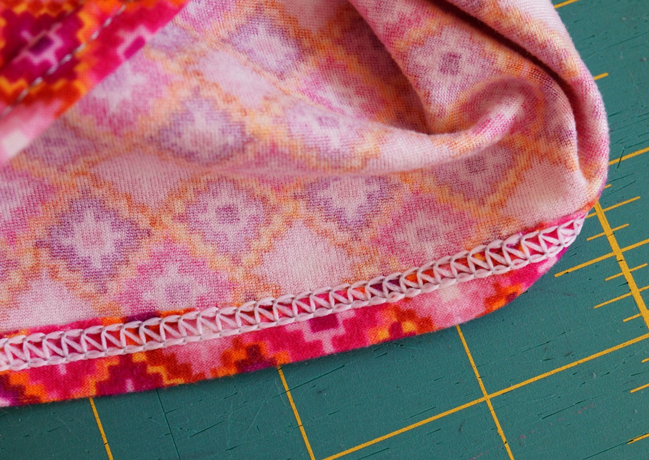 5 Tips for Sewing with Double Brushed Poly Knits | Double