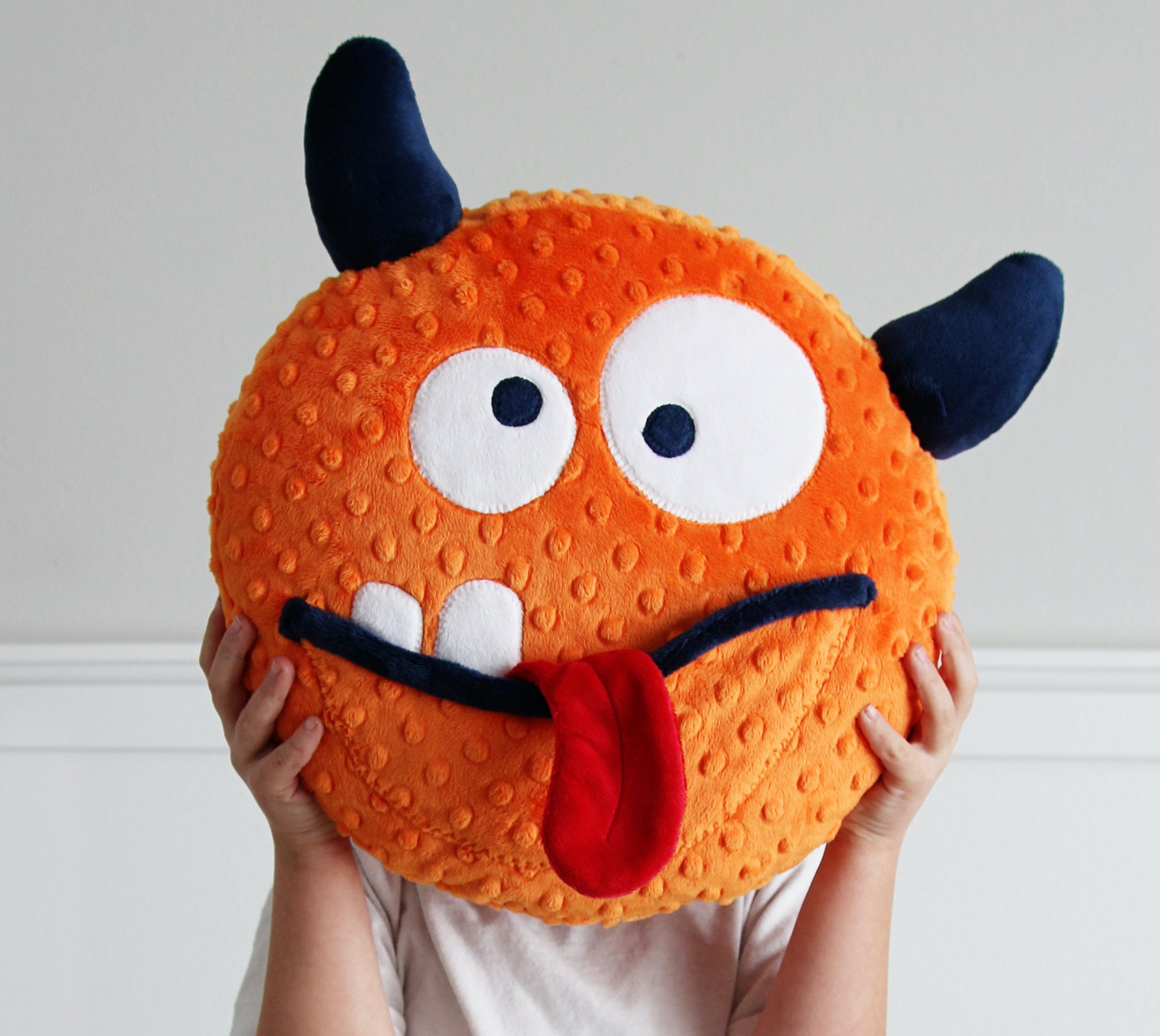 silly cuddle pillow