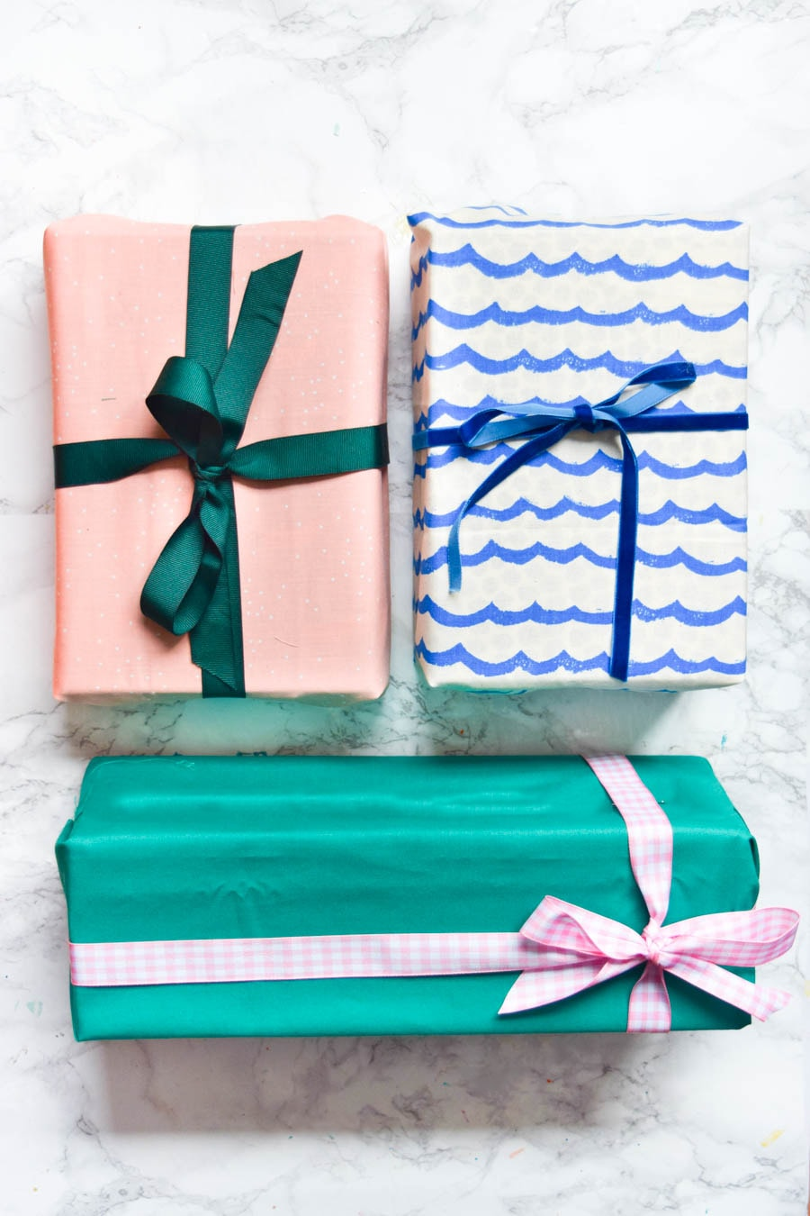 3 Ways to Wrap Gifts in Fabric | Learn 3 easy ways to wrap gifts in