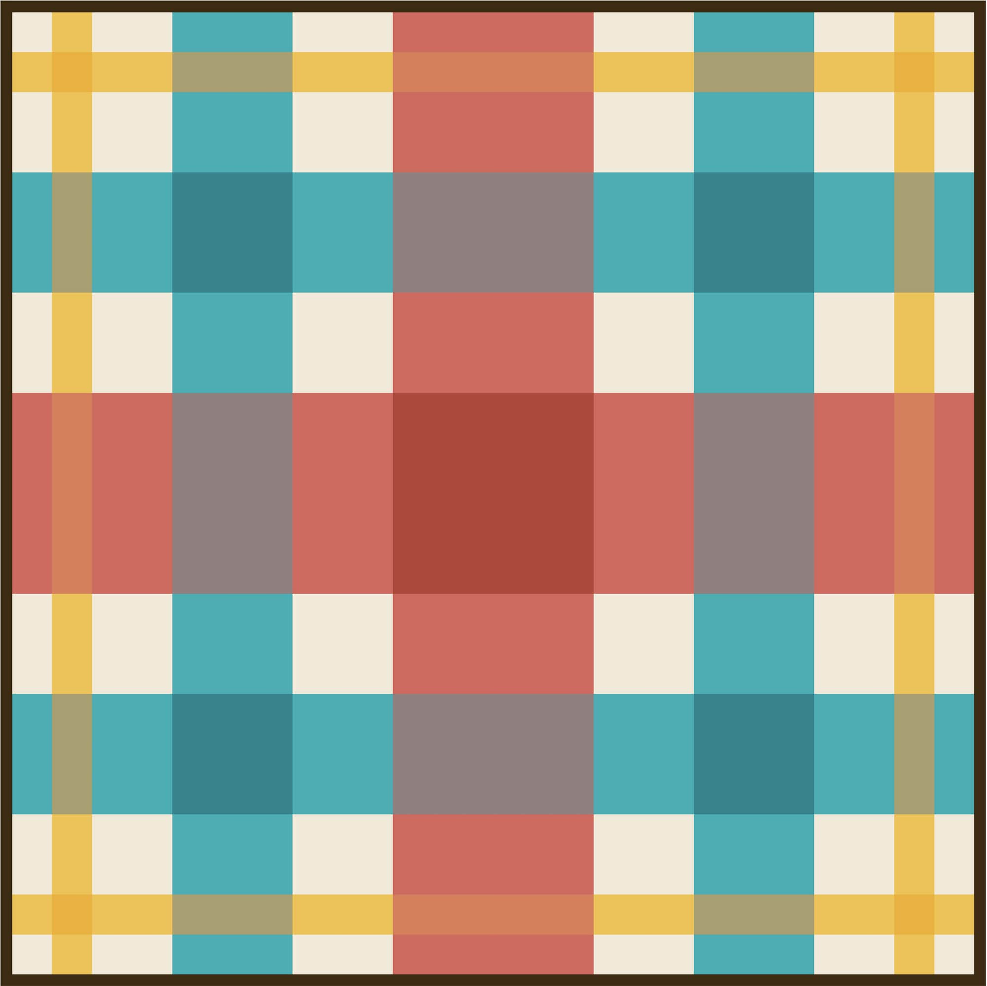 Fall Block Party Mod Tartan