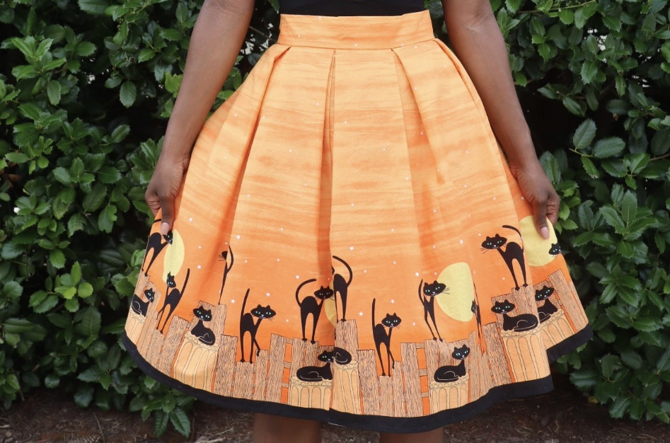picture of circle skirt