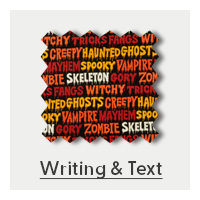 Shop Writing and Text