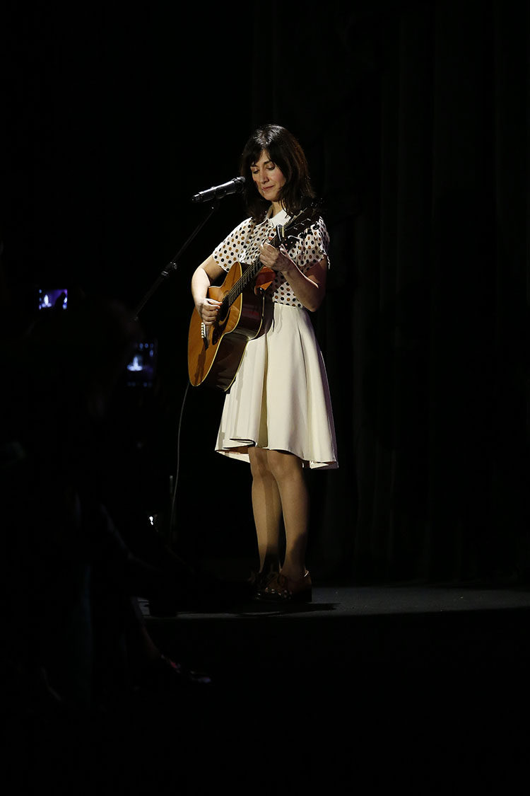 luthea on stage