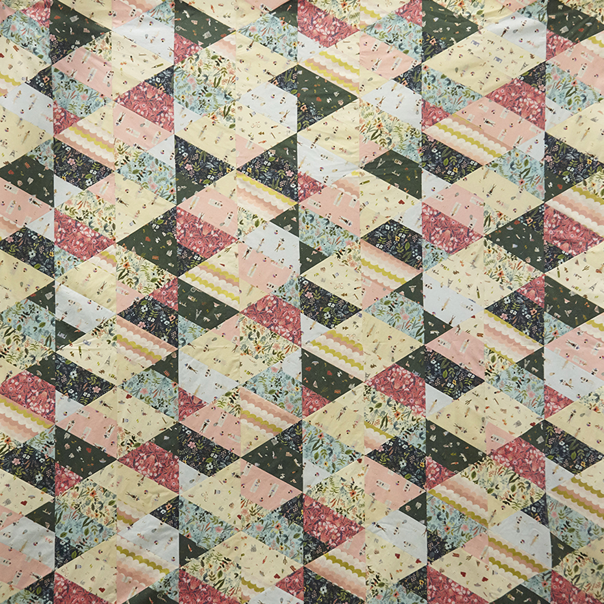 Easy Modern Triangles Quilt Tutorial Create A Beautiful Modern