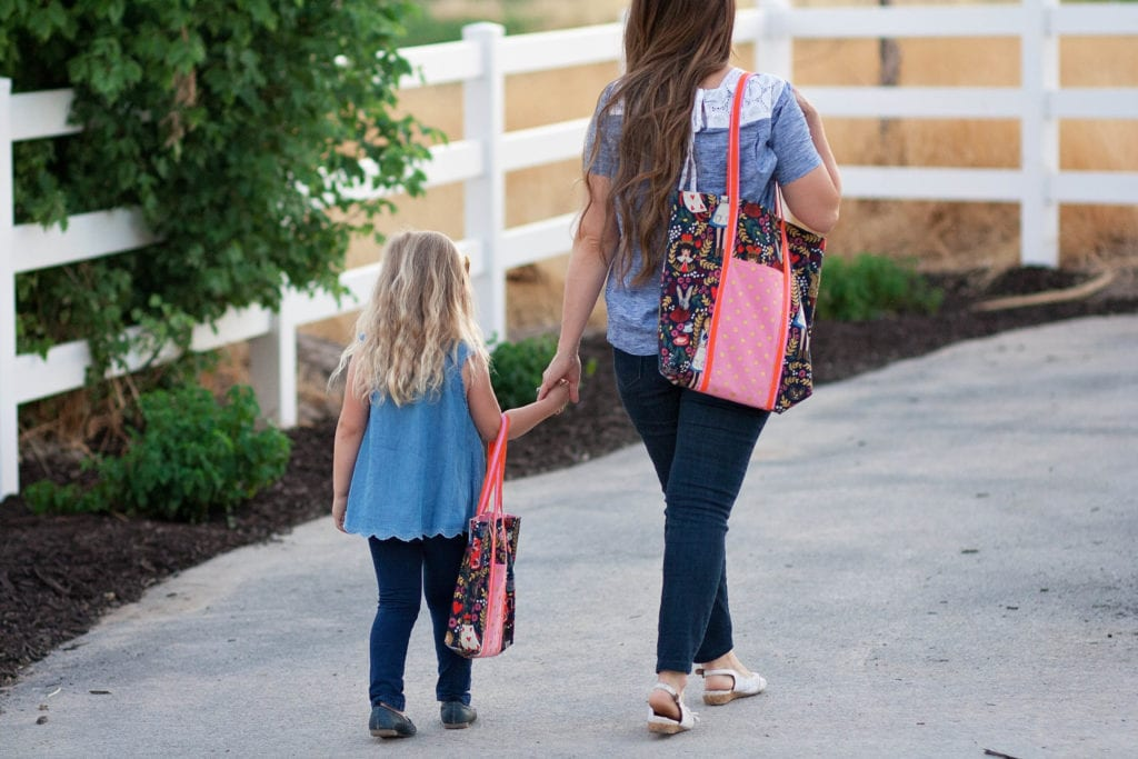 Mommy and Me Totes