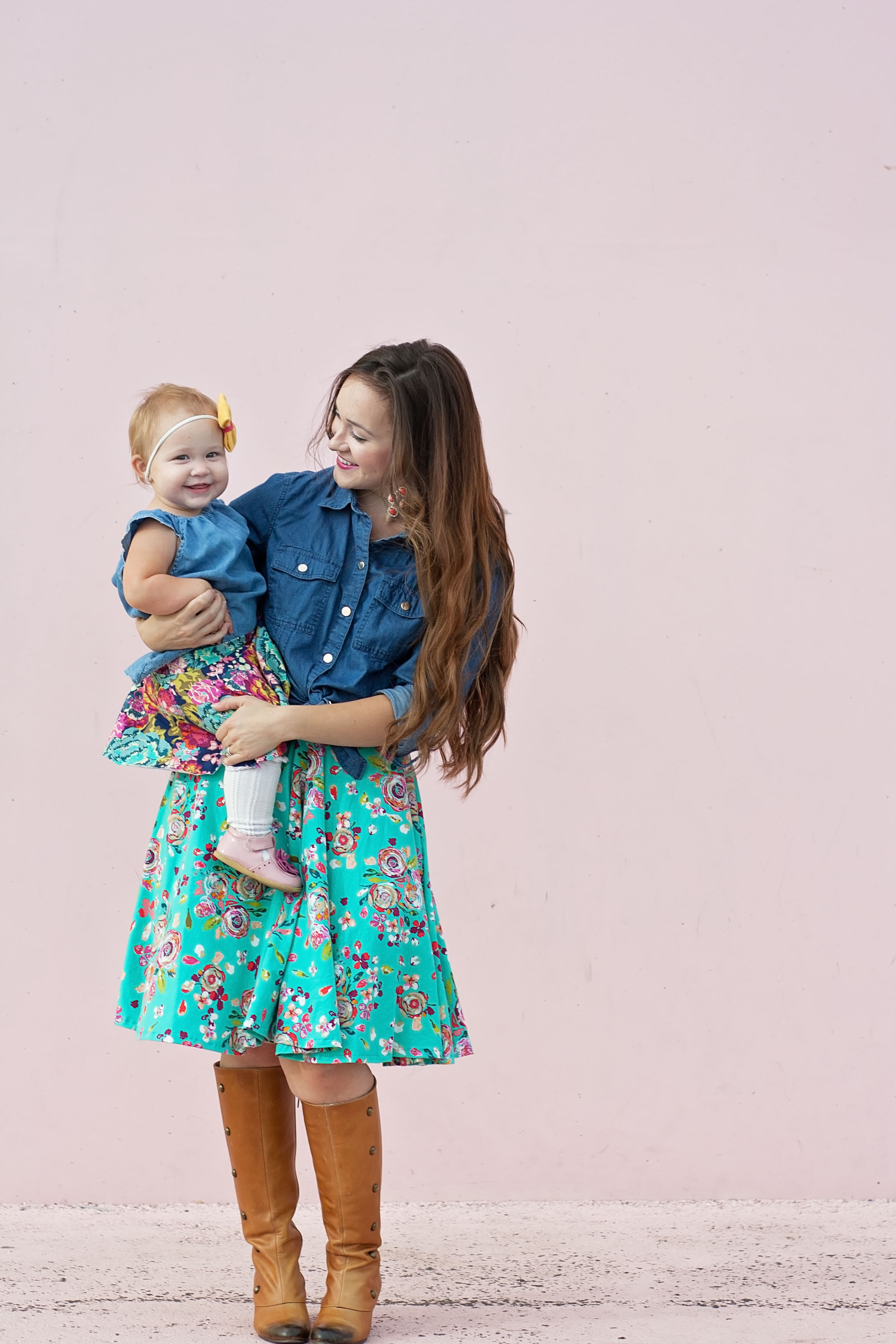 Mommy and Me Circle Skirts