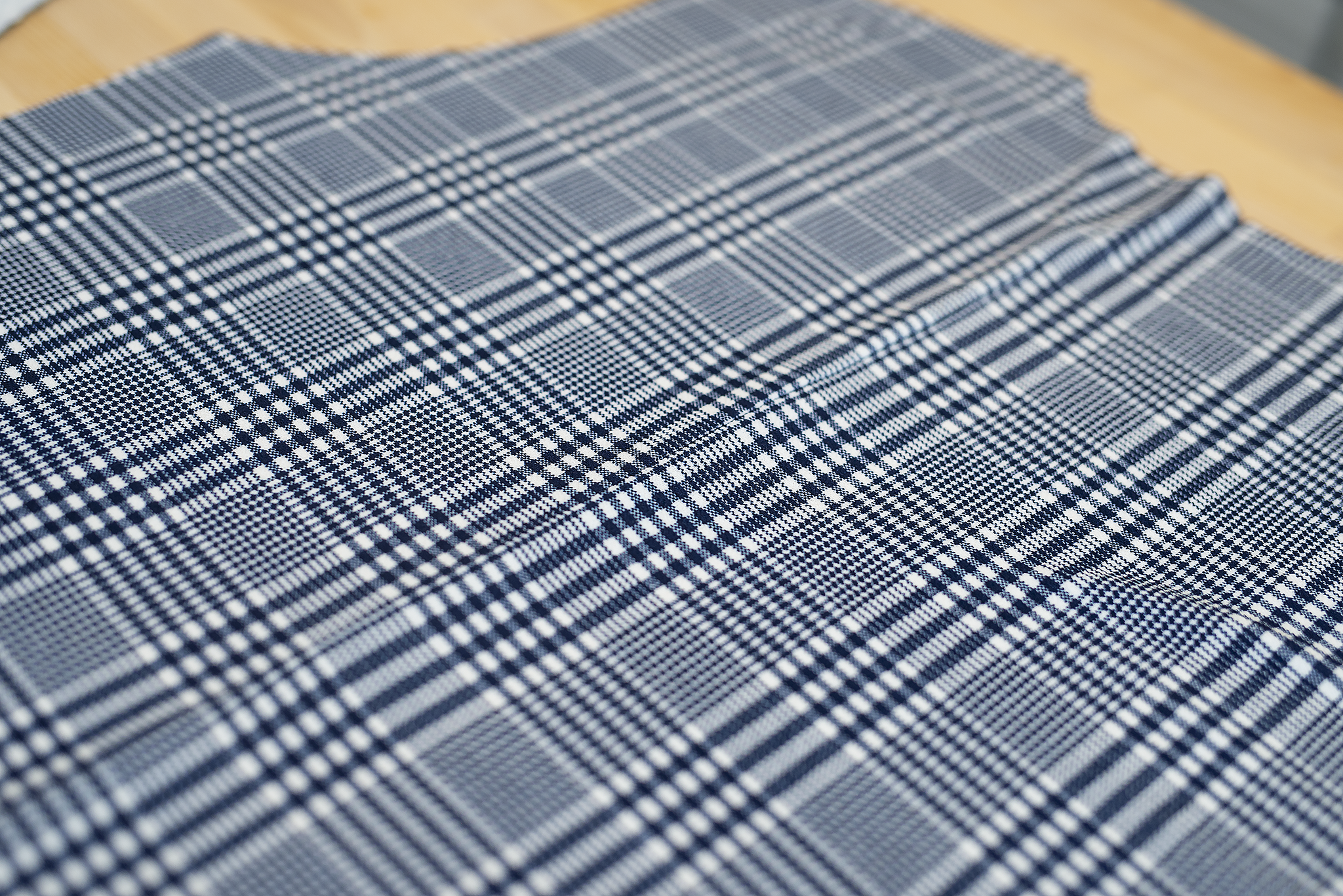 picture of cut cardigan fabric