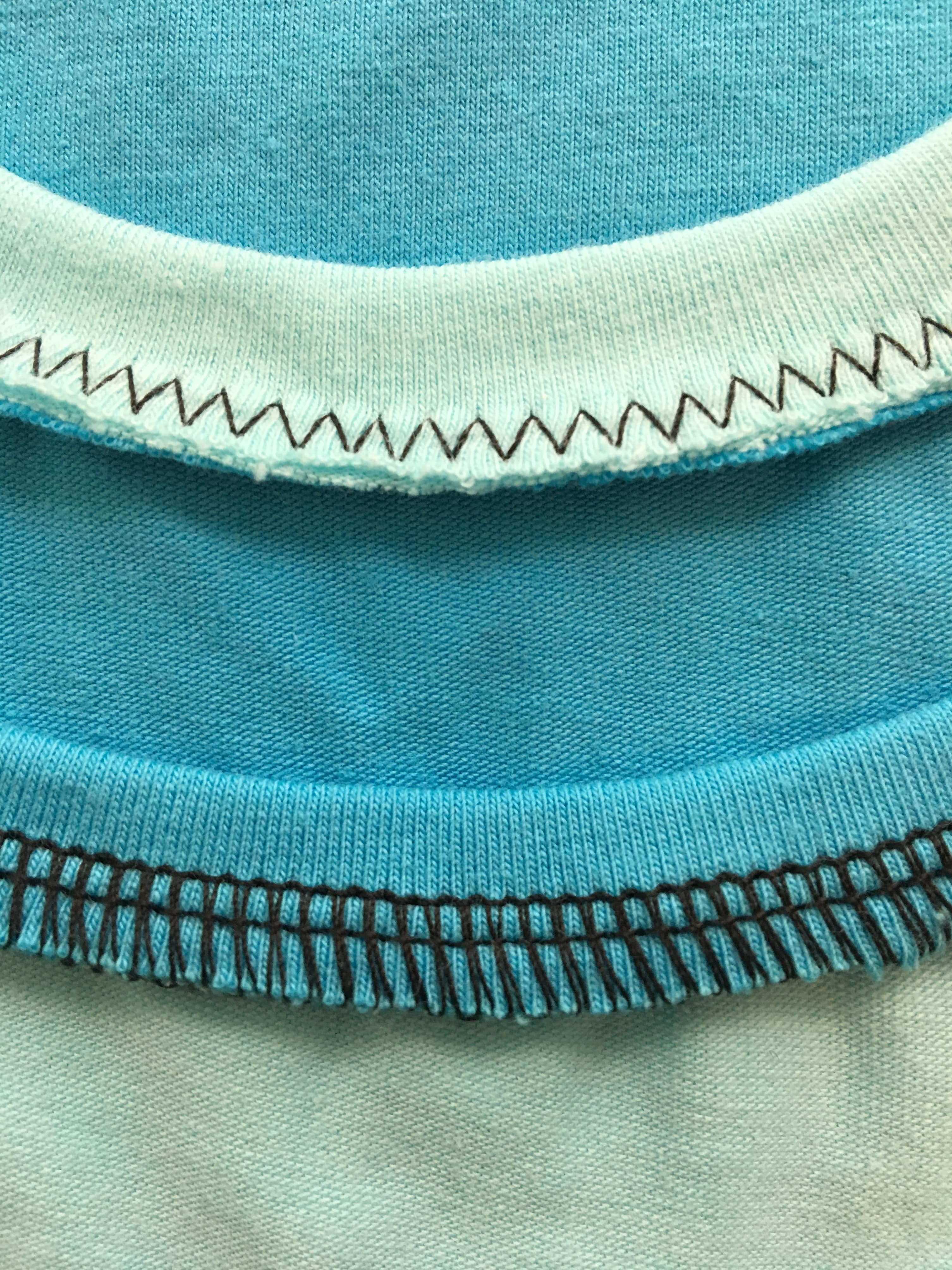 Attaching Knit Bands