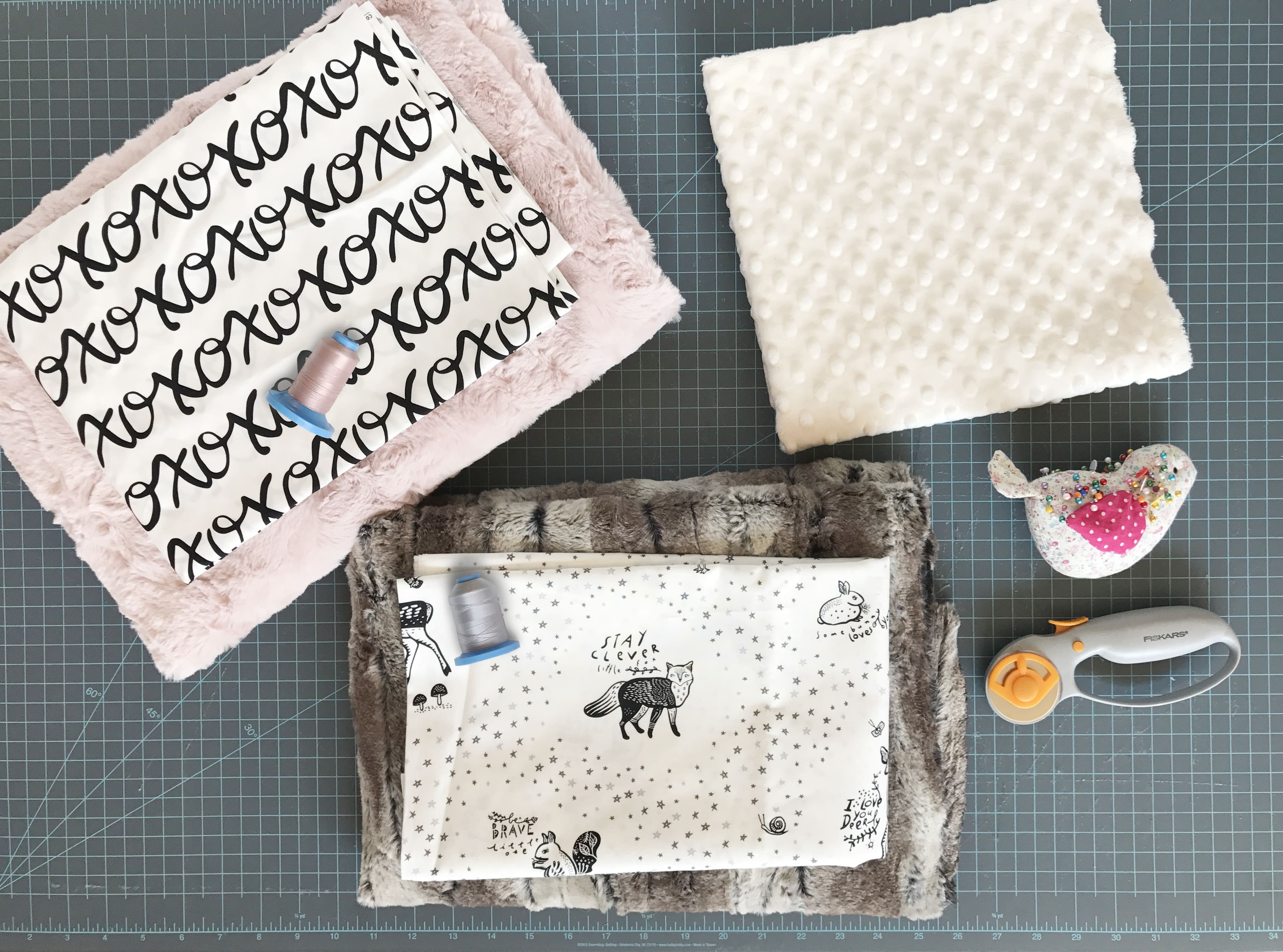 Tips for Sewing With Minky