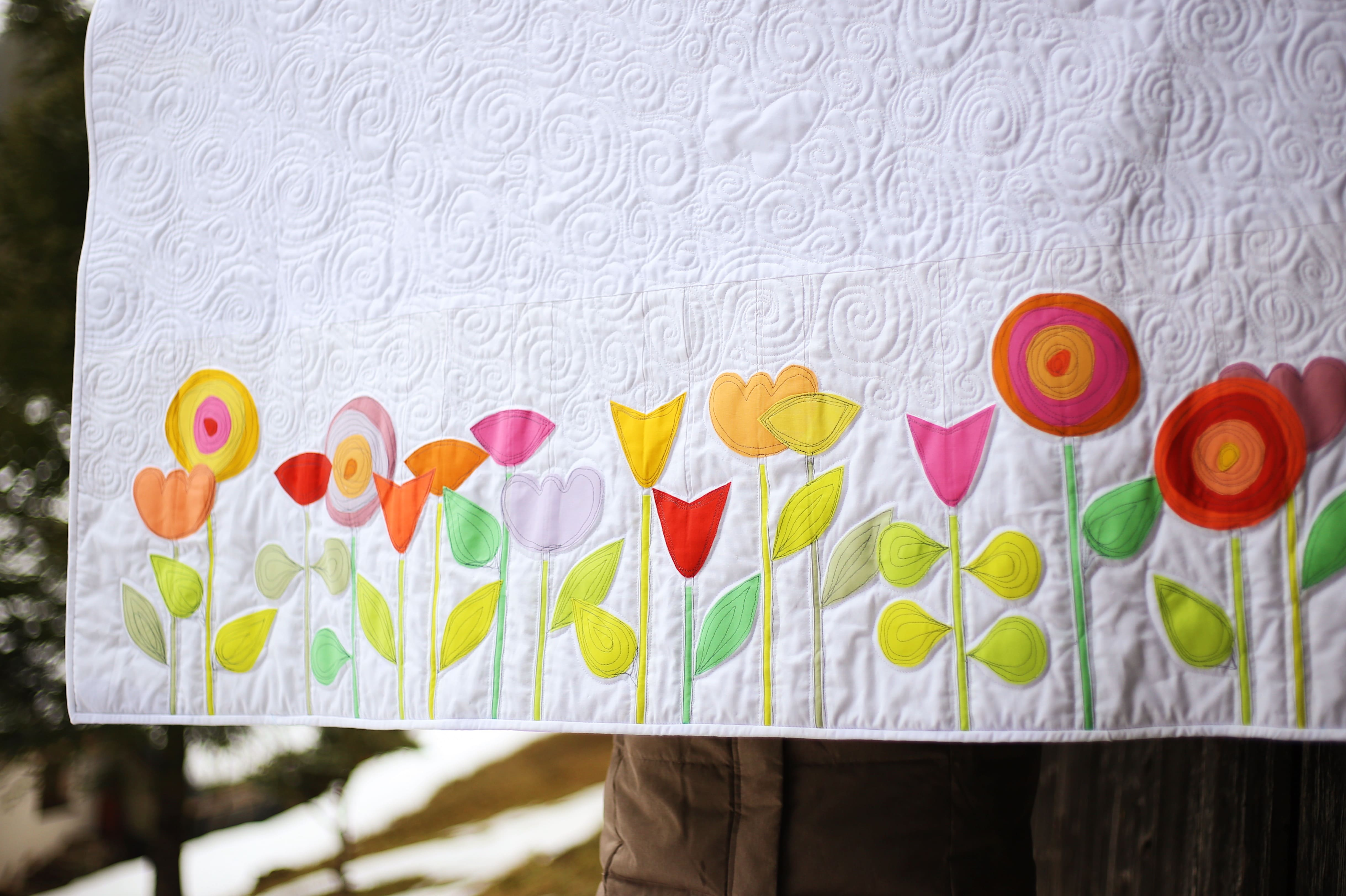 Spring Flowers Quilt