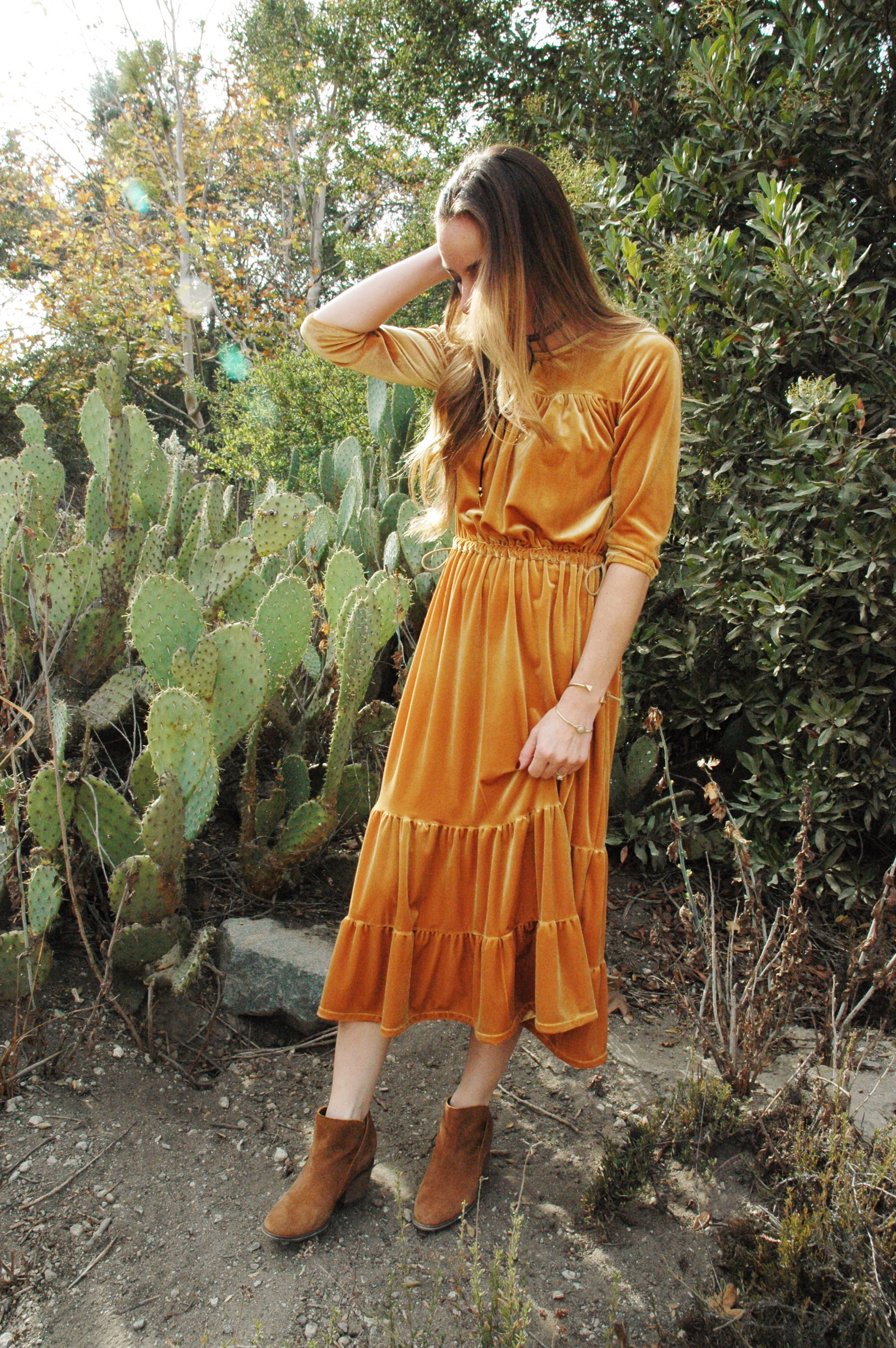 plus boho dress tutorial