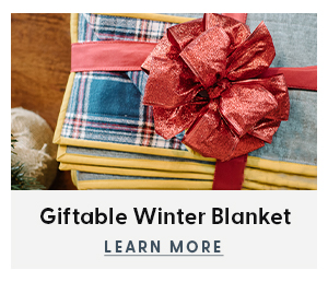 Giftable Winter Blanket
