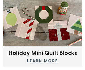 Holiday Mini Quilt Blocks
