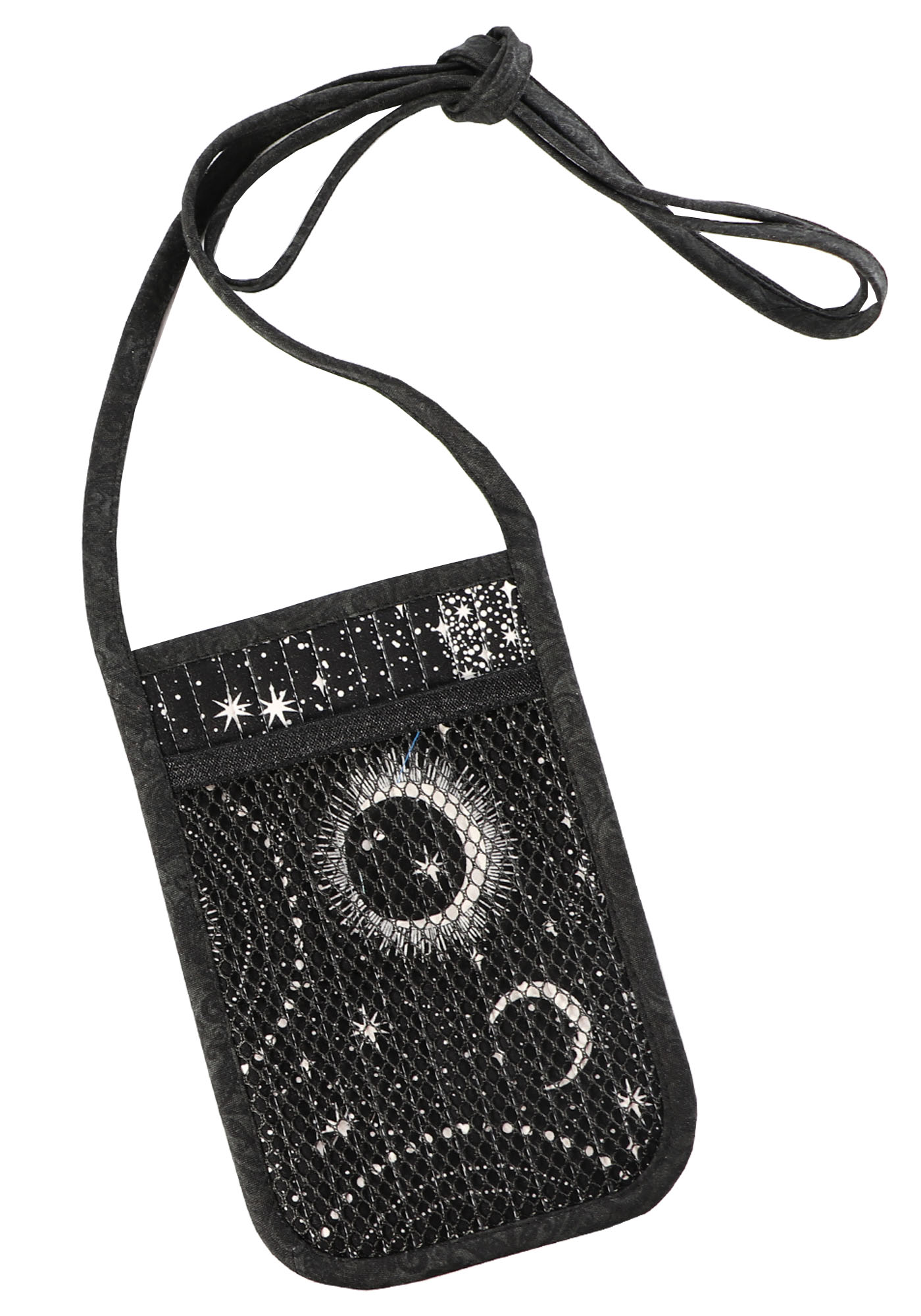 image of name tag / cell phone bag