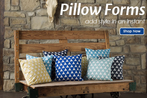 Pillow Forms: Add Style in an Installment