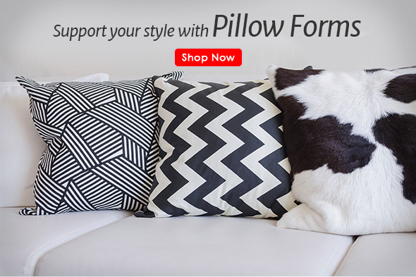 Pillow Forms: Add Style in an Instant
