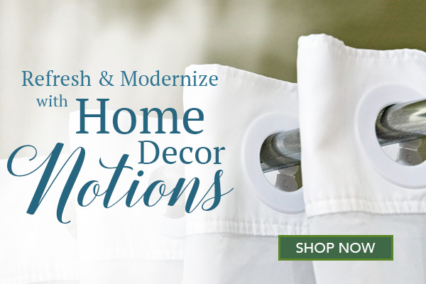 home dec notions