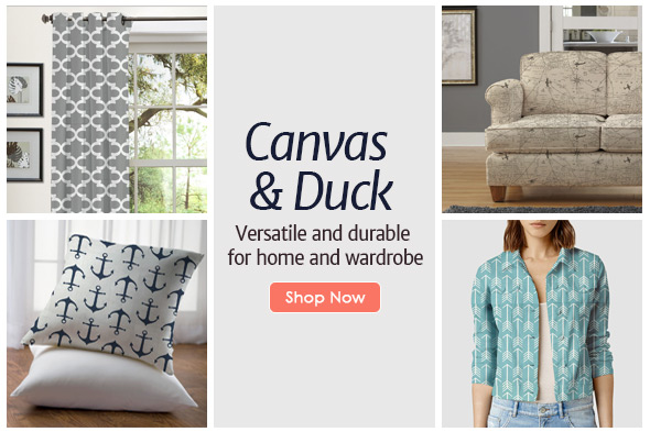 Canvas and Duck Fabric