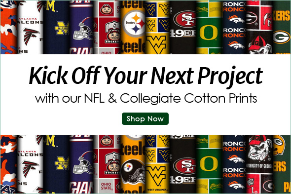 College & NFL Fabric
