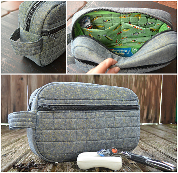 Toiletry Bag for Dad