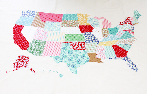 Map Quilt Tutorial   Discount Designer Fabric   Fabric.com