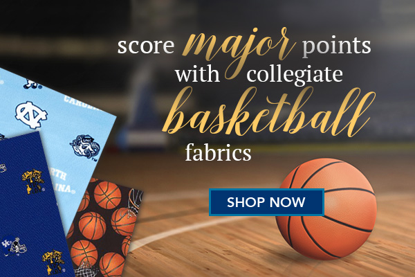 College Basketball Fabrics