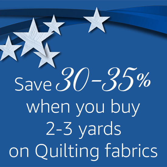 Stock Up and Save on Quilting