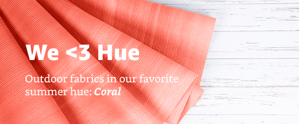 Outdoor Inspirations: Coral