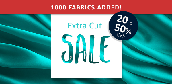 8cd36b9af4 Extra Cut Sale - Discount Designer Fabric - Fabric.com