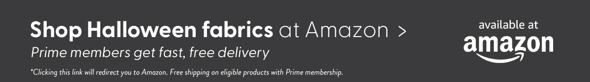 Shop halloween fabrics at Amazon. Prime members get fast, free delivery. Clicking this link will redirect you to Amazon. Free shipping on eligible products with Prime membership.