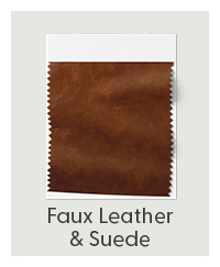 Shop faux leather & suede