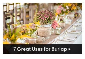 7 Great uses for burlap