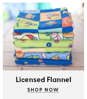 Shop licensed flannel