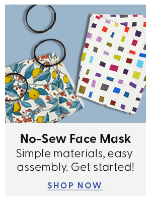 Shop no sew face mask kits