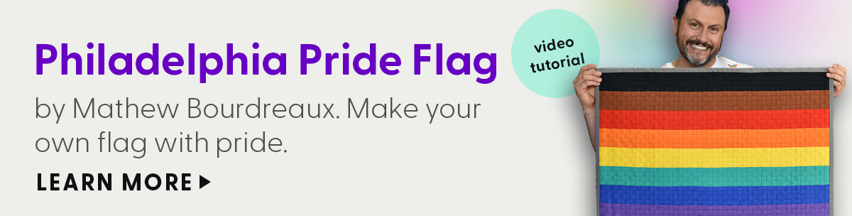 Philadelphia Pride Flag - by Mathew Bourdreaux. Make your own flag with pride. Learn More.