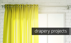 Drapery Projects on the Blog